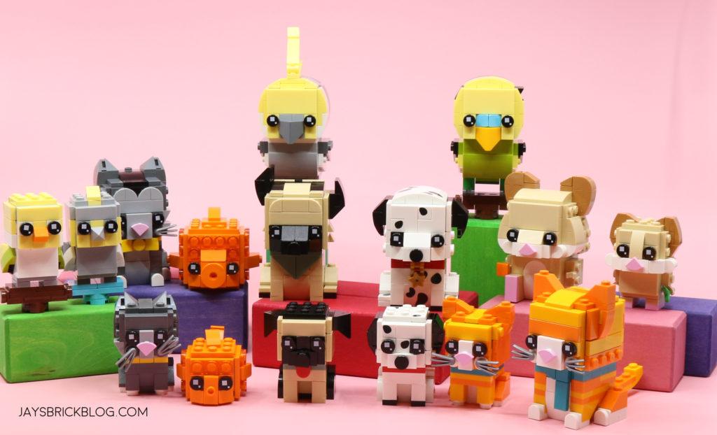 LEGO Brickheadz Pets Complete