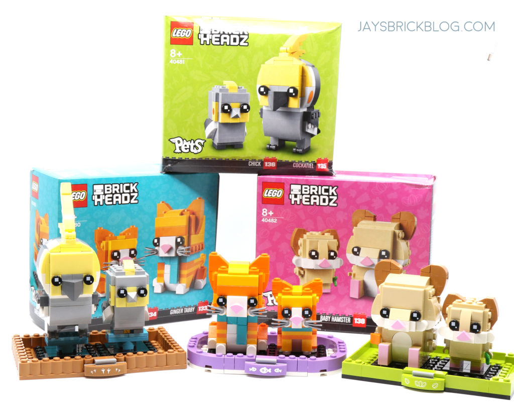 LEGO Brickheadz Pets Wave 3 Summer