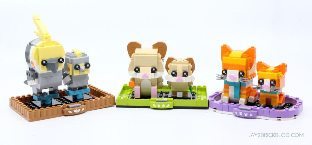 LEGO Brickheadz Pets Wave 3 Summer Group