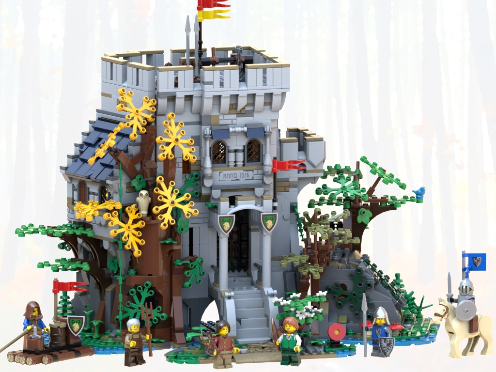 LEGO Castle in the Forest set