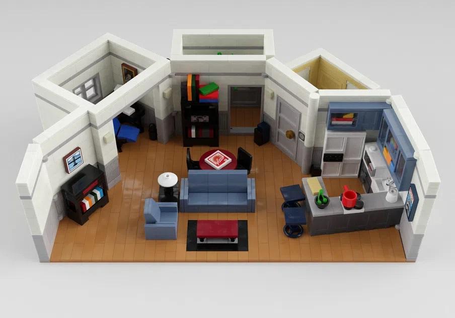 LEGO Ideas Project Seinfeld Flat