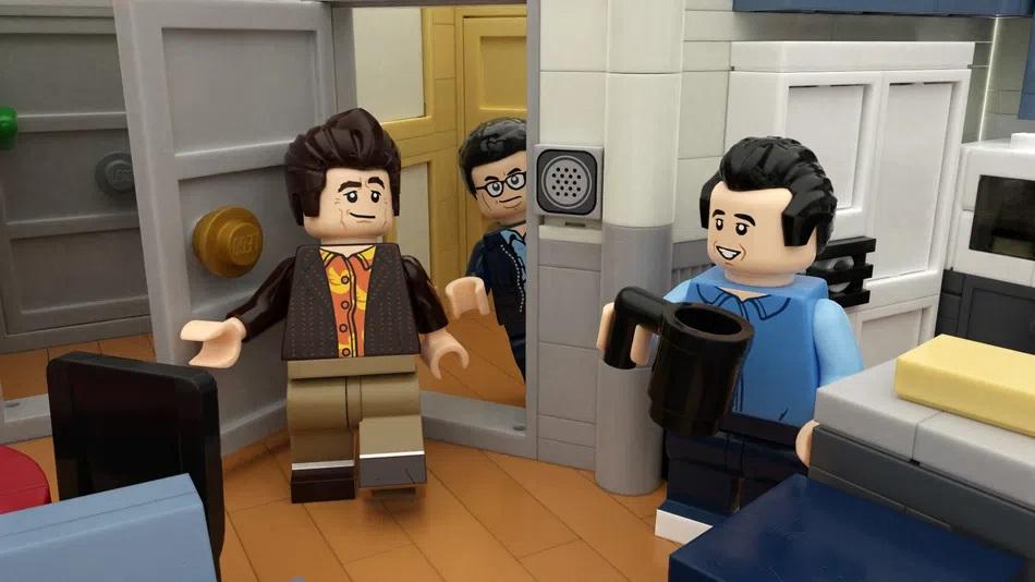 LEGO Ideas Project Seinfeld Interiors
