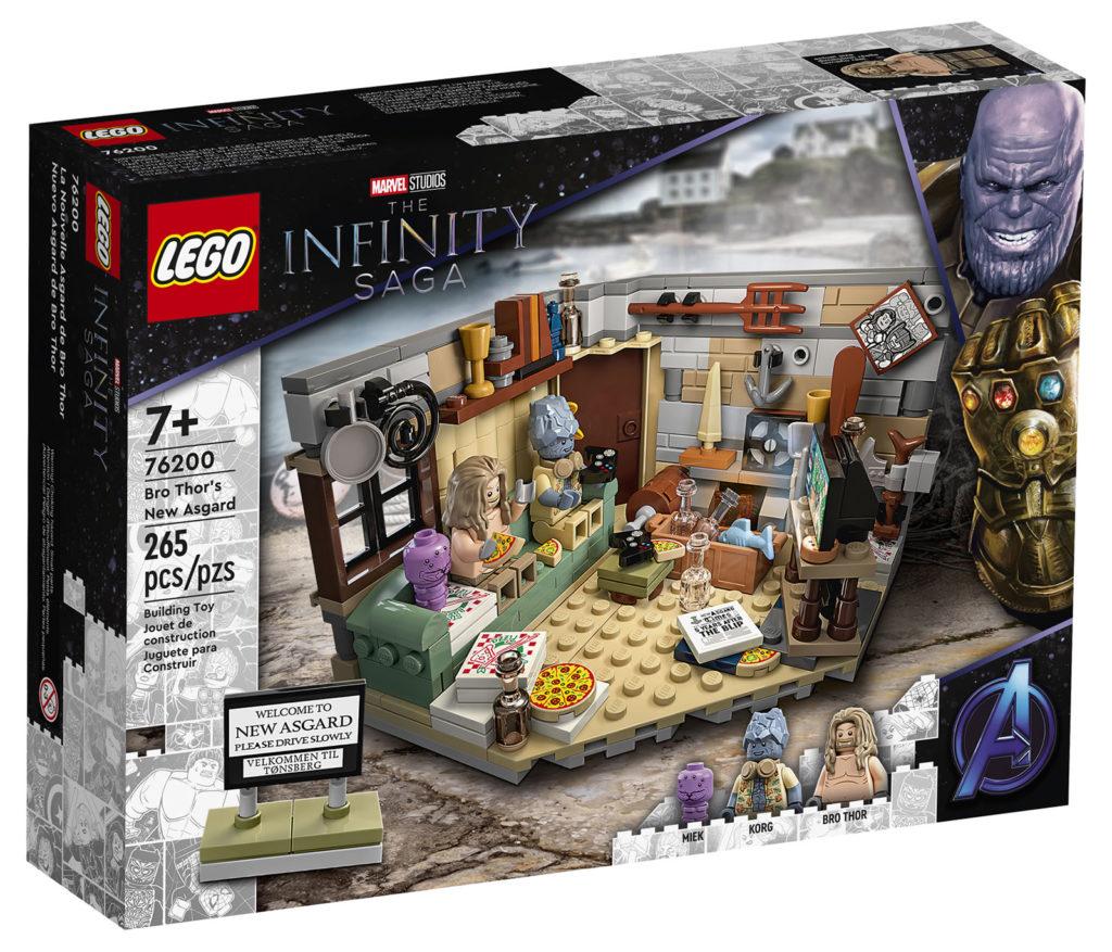 LEGO Marvel Bro Thors New Asgard 76200