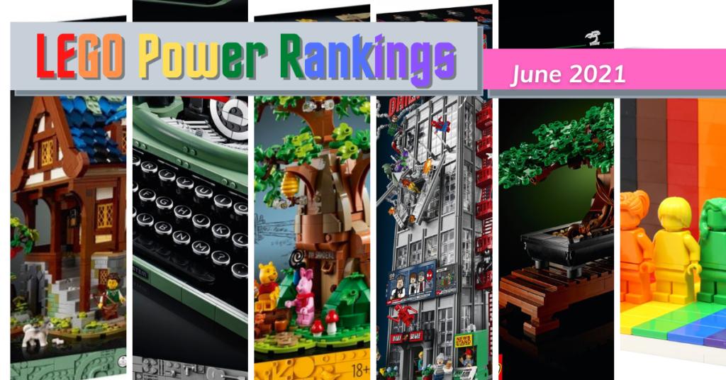 LEGO Power Rankings June 2021 Feature
