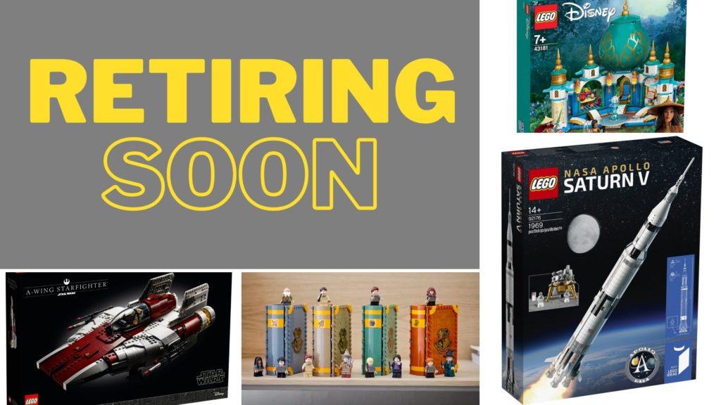 LEGO Retiring Soon July 2021