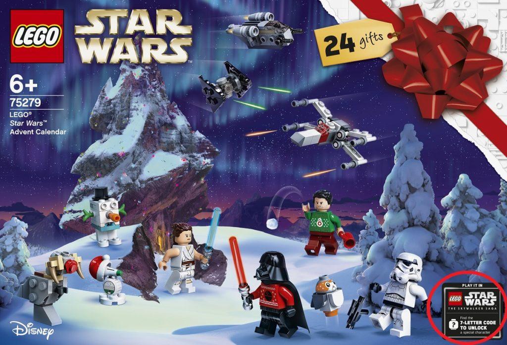 LEGO Star Wars Advent Calendar 2020 Skywalker Saga Code