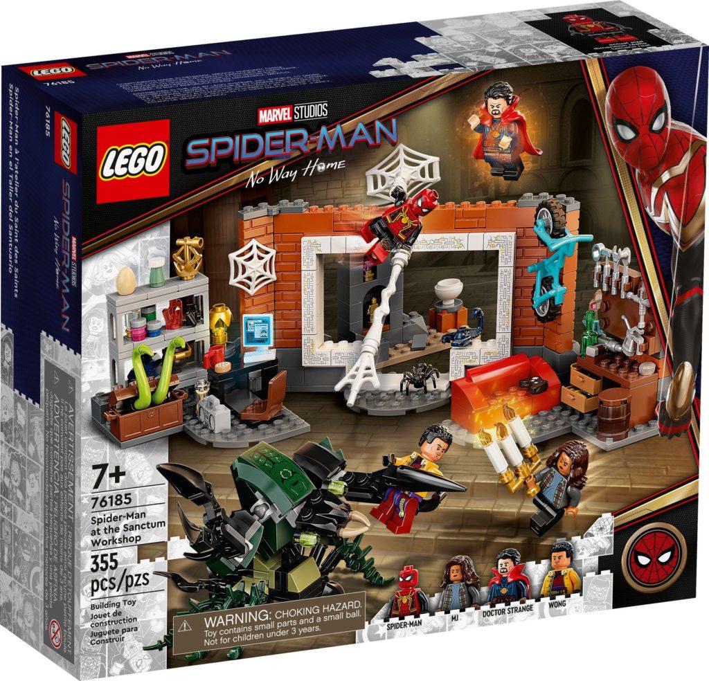 Spider Man at the Sanctum Workshop 76185