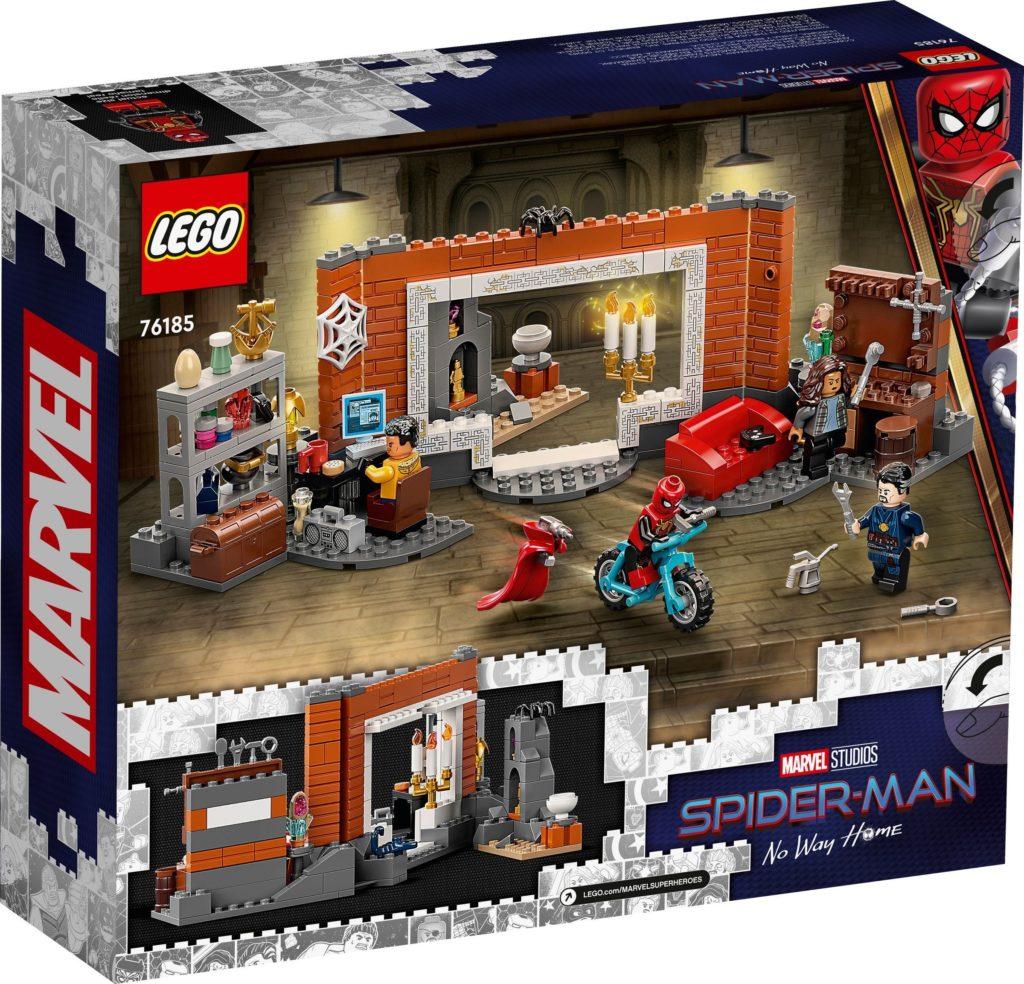 Spider Man at the Sanctum Workshop 76185 2