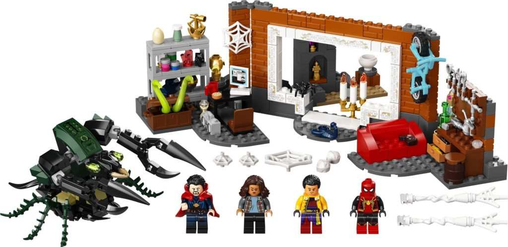 Spider Man at the Sanctum Workshop 76185 3
