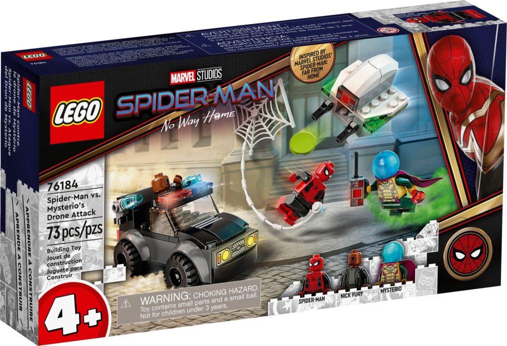 Spider Man vs. Mysterios Drone Attack 76184