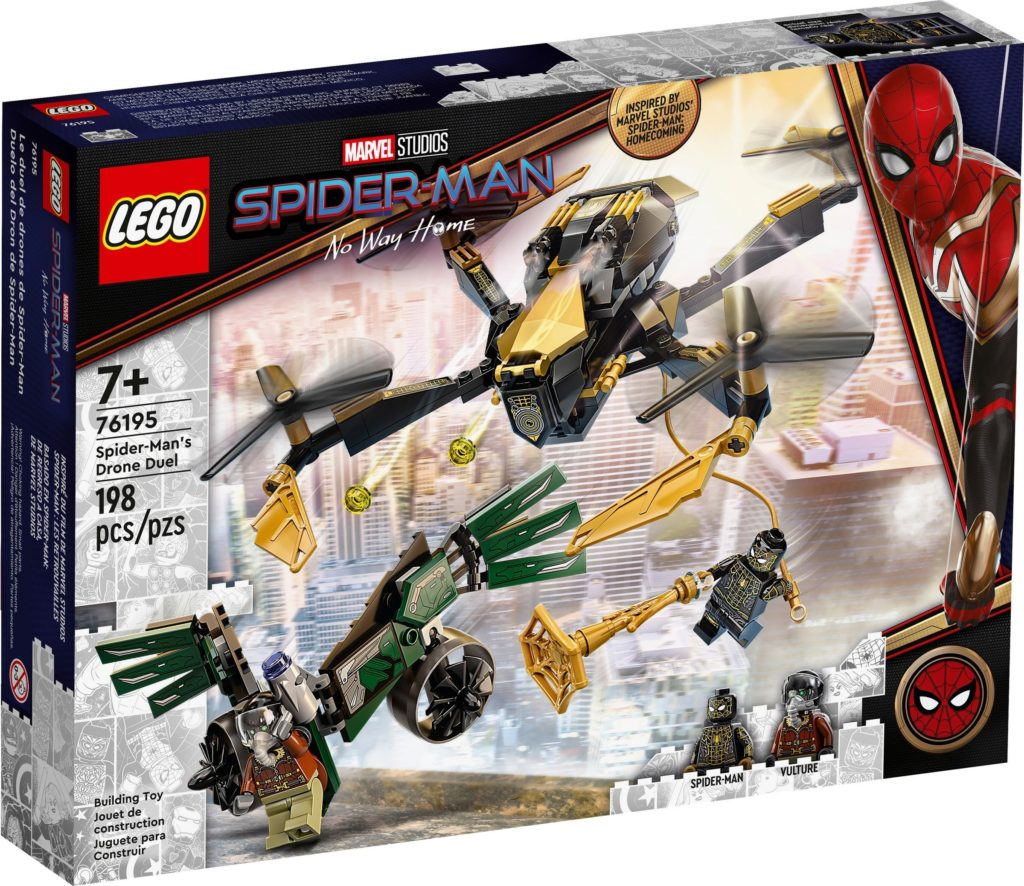 Spider Mans Drone Duel 76195