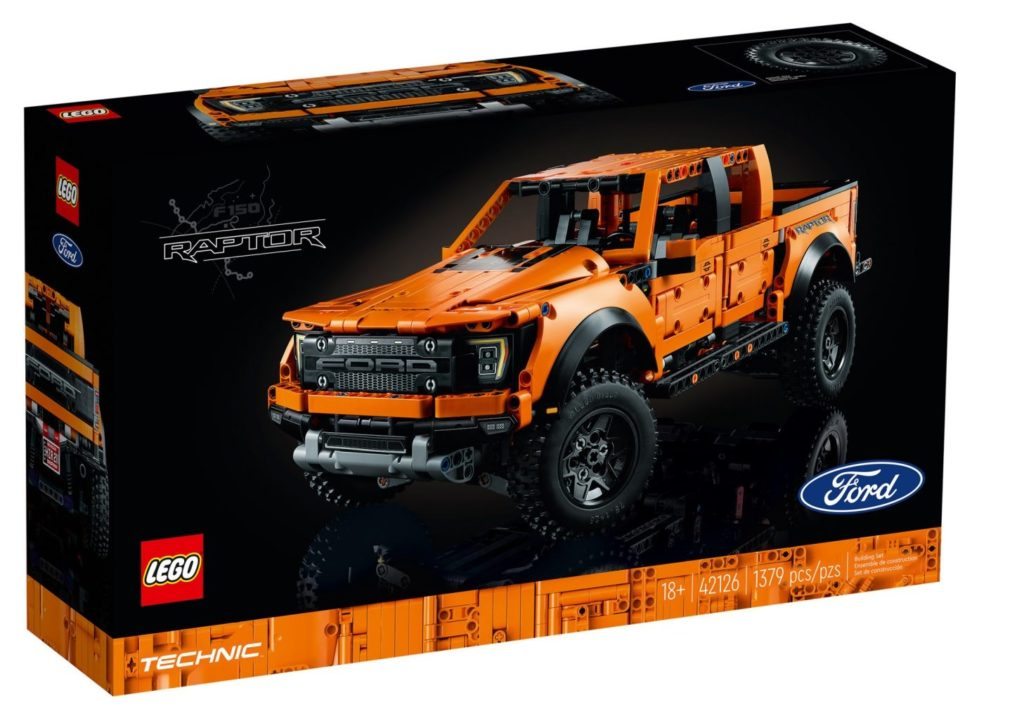 Technic 42126 Ford F 150 Raptor Box Front