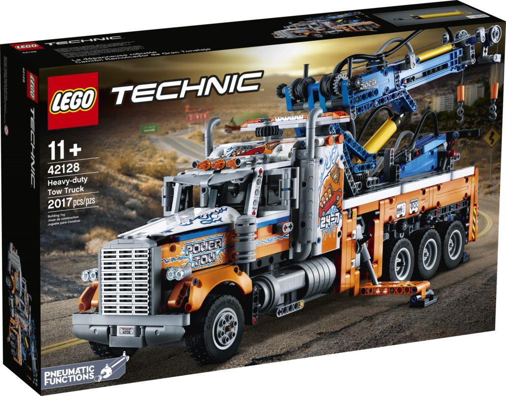 Technic 42128 Heavy duty Tow Truck Box Front