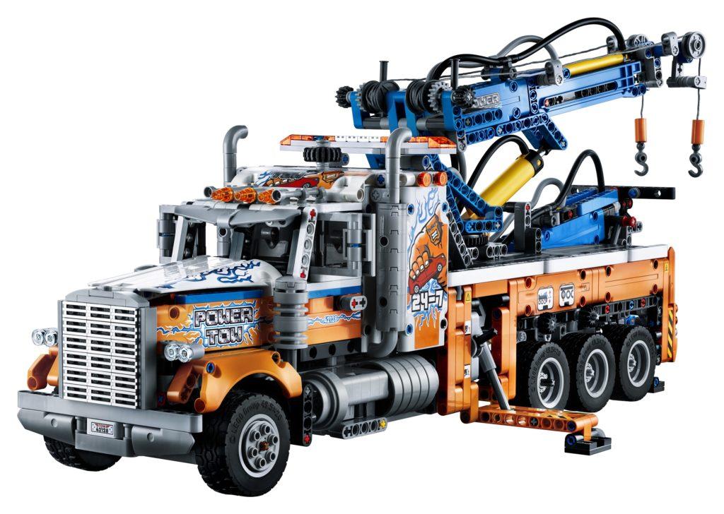 Technic 42128 Heavy duty Tow Truck Front