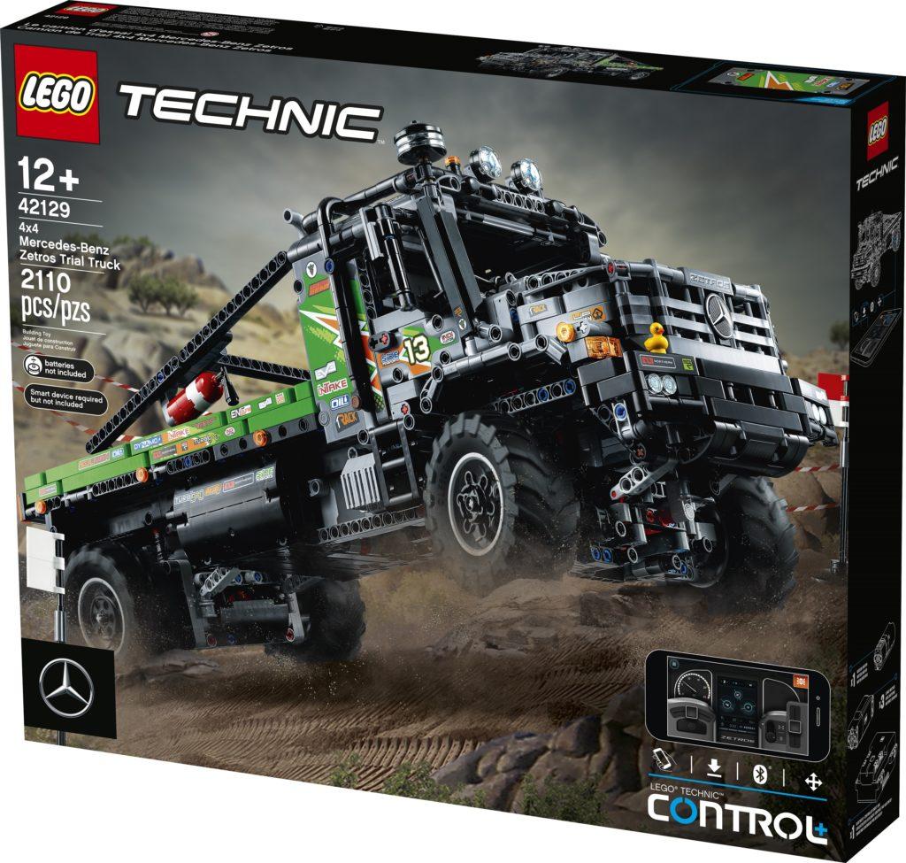 Technic 42129 4×4 Mercedes Benz Zetros Trial Truck Box Front