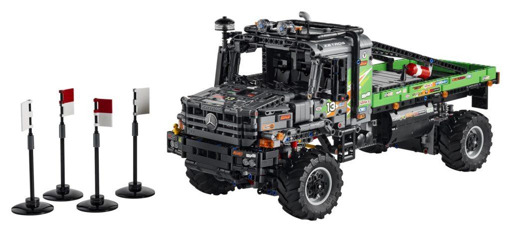 Technic 42129 4×4 Mercedes Benz Zetros Trial Truck Product Photo