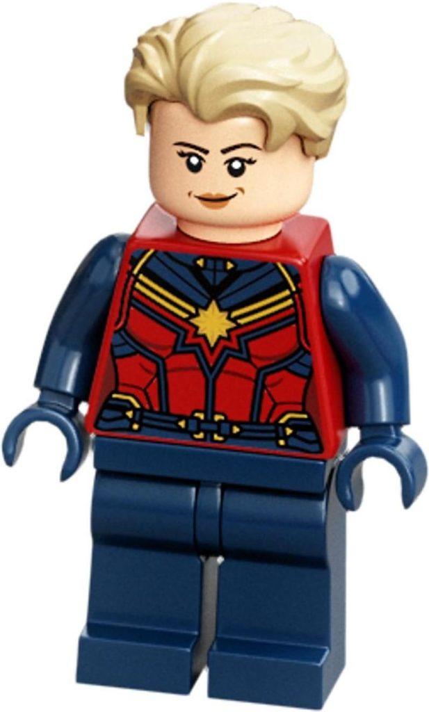 LEGO Captain Marvel Endgame Minifigure