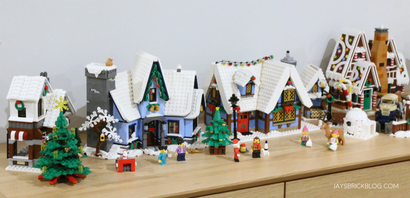 LEGO 10293 Santas Visit Santa Visit and Winter Village Cottage