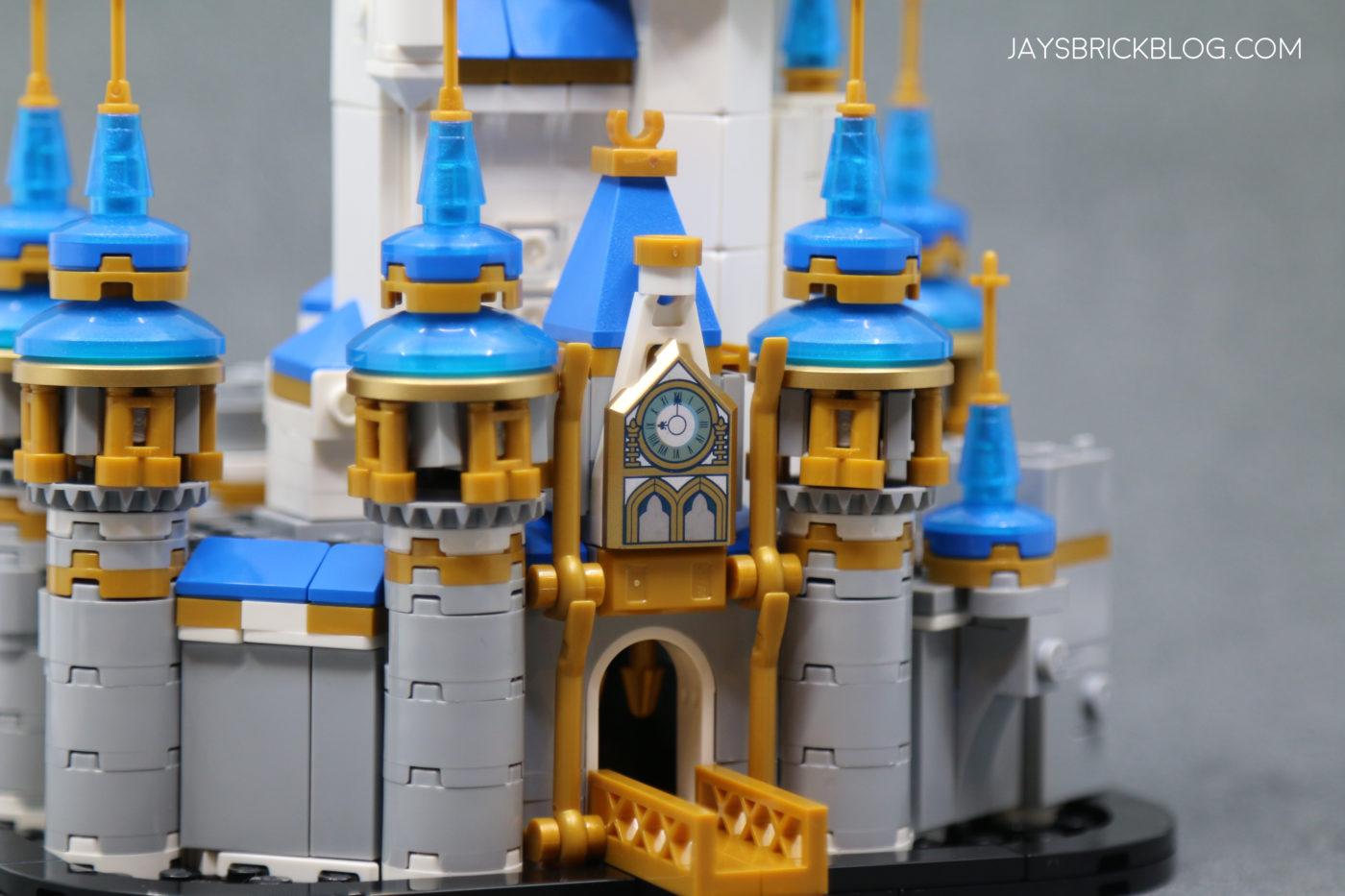 LEGO 40478 Mini Disney Castle Clock Entrance 1