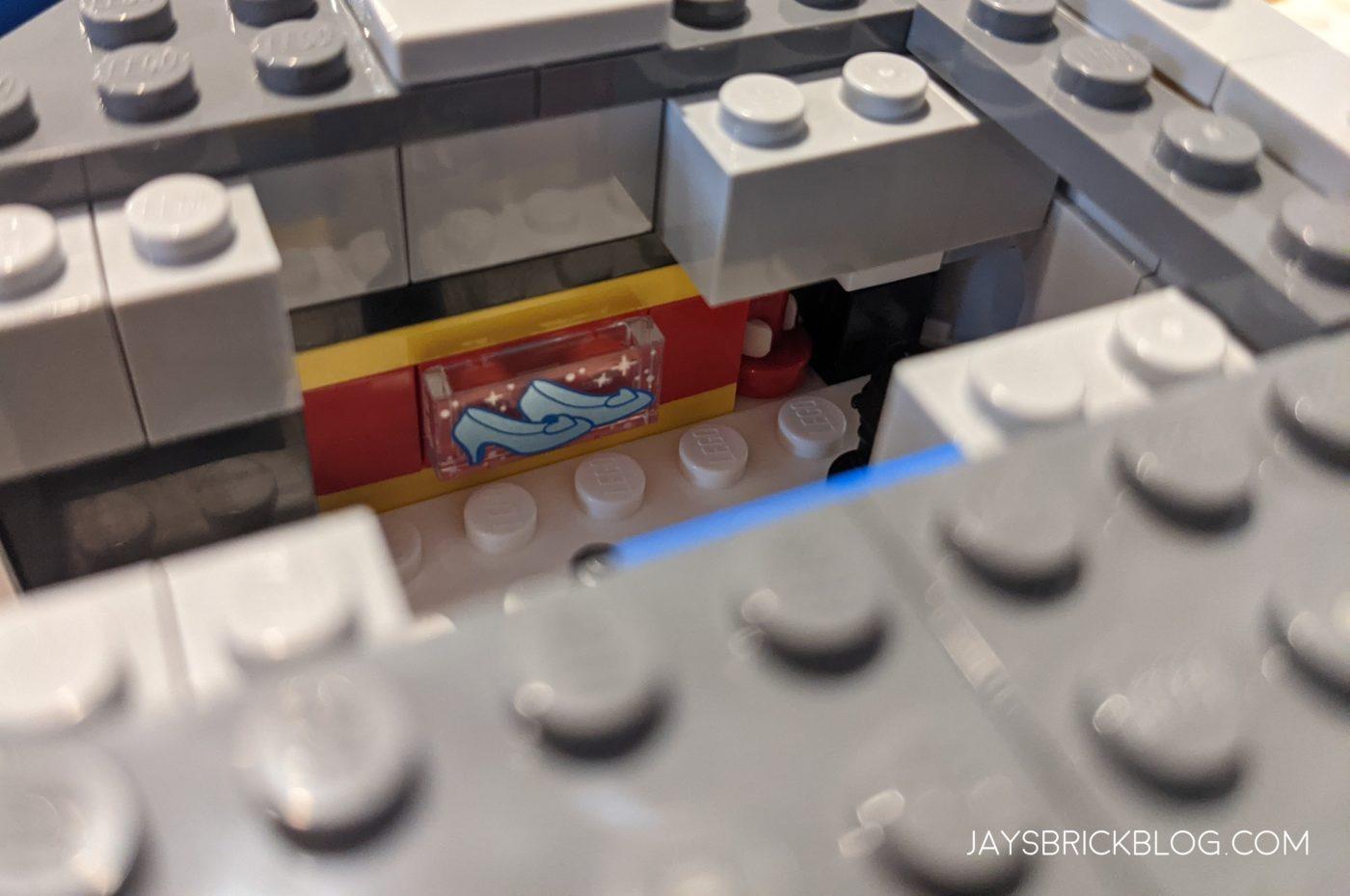 LEGO 40478 Mini Disney Castle Glass Slipper Tile