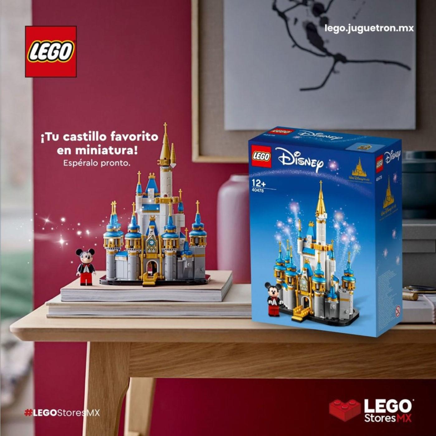 LEGO 40478 Mini Disney Castle LEGO Mexio Instagram