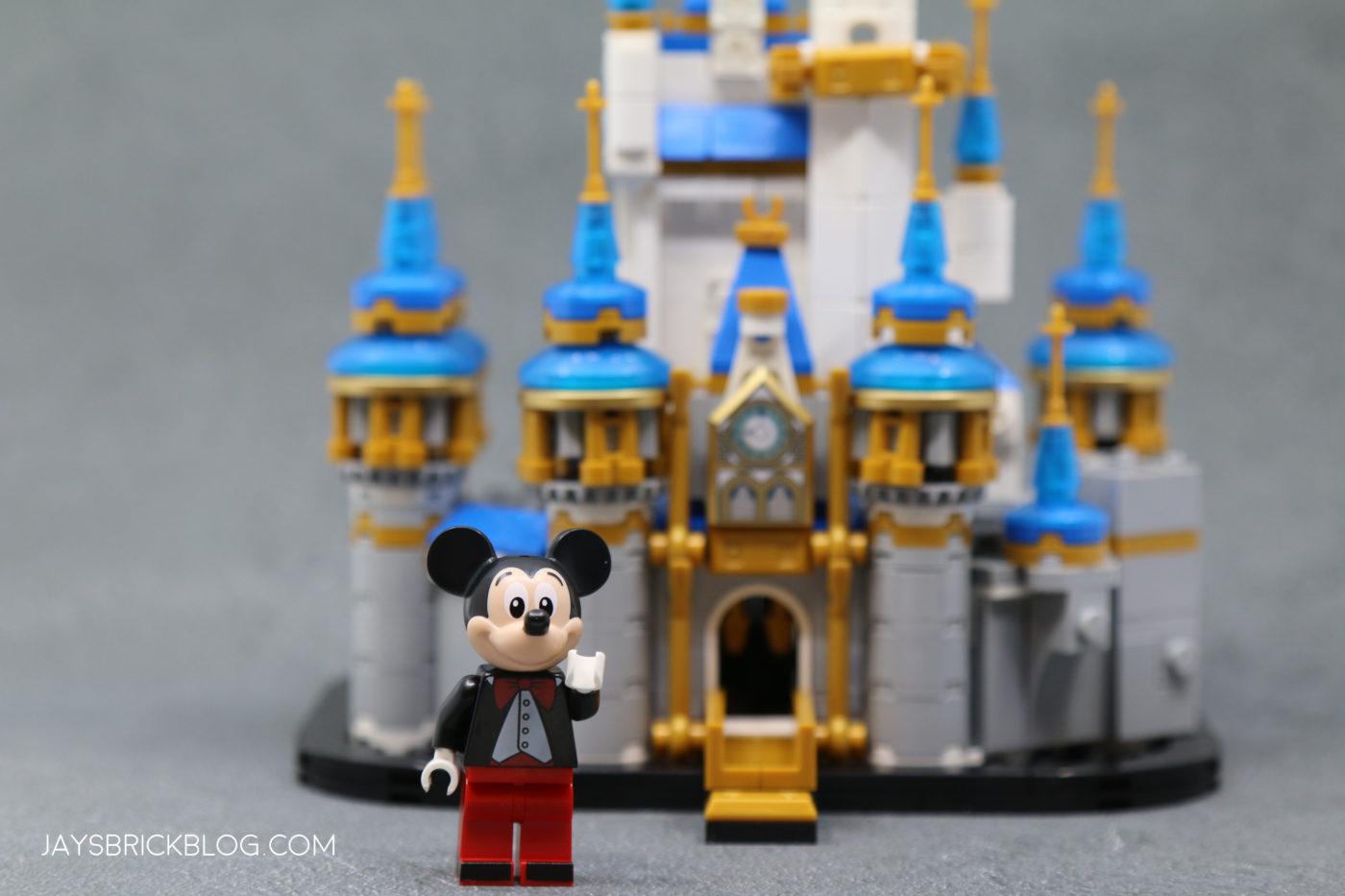 LEGO 40478 Mini Disney Castle Mickey Mouse Minifigure