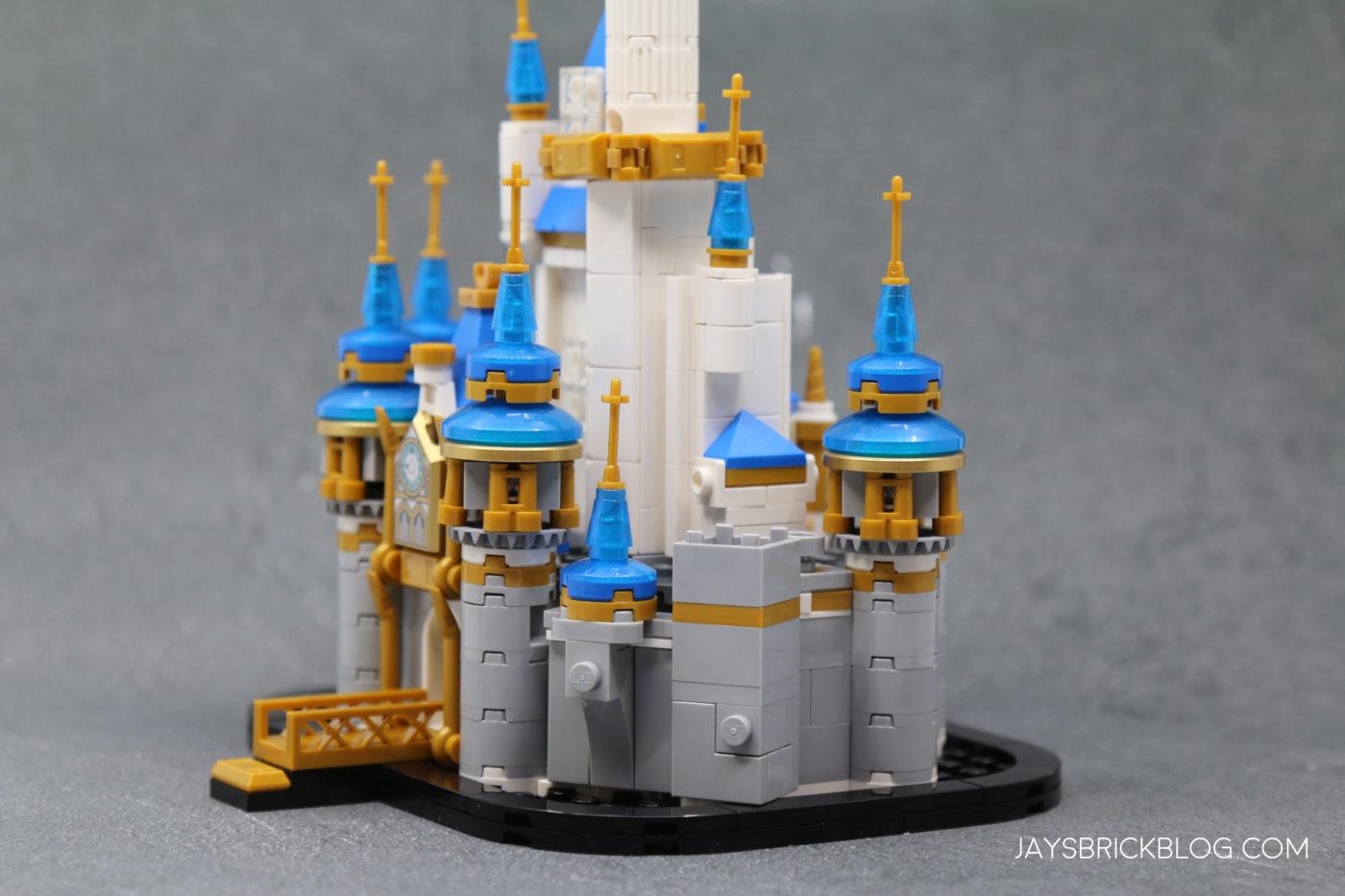 LEGO 40478 Mini Disney Castle Side View