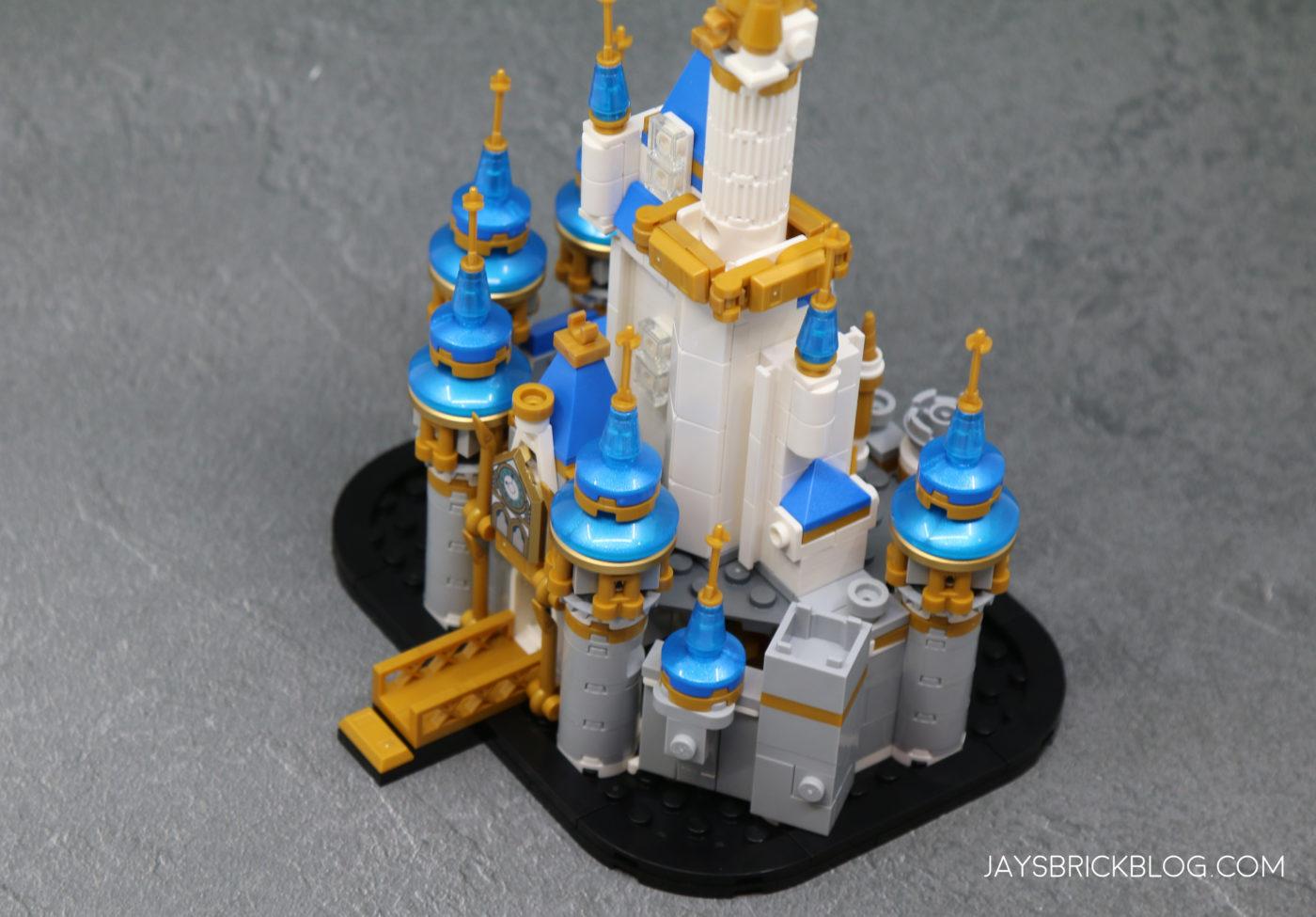 LEGO 40478 Mini Disney Castle Top View