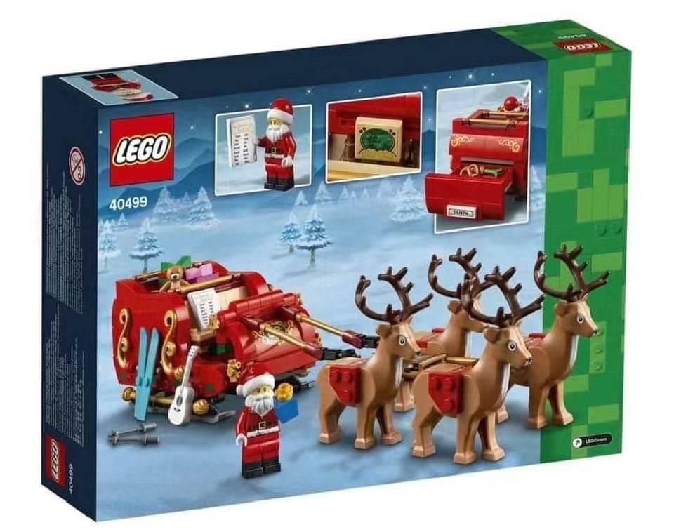 LEGO 40499 Santas Sleigh Box Back