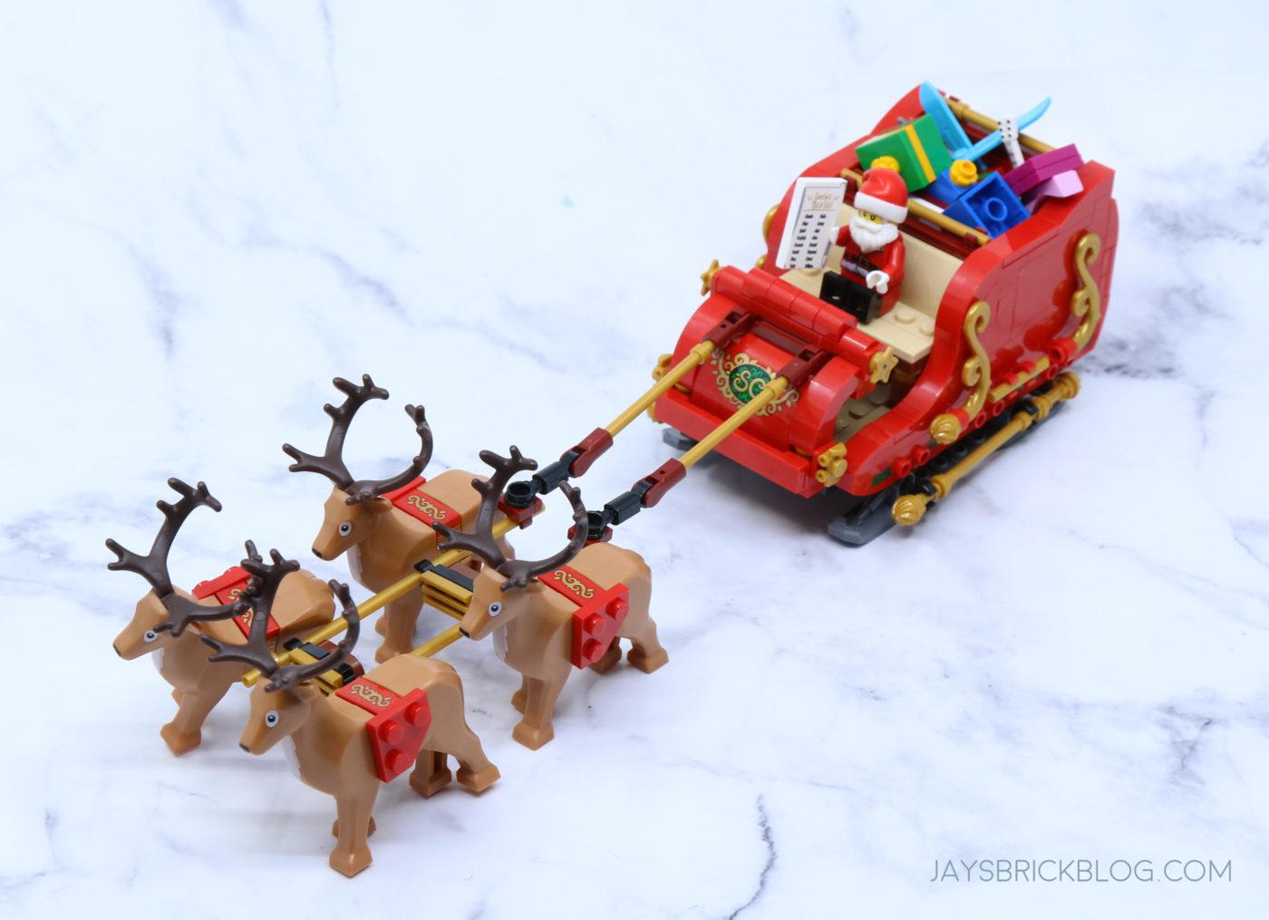 LEGO 40499 Santas Sleigh Reindeer Sleigh