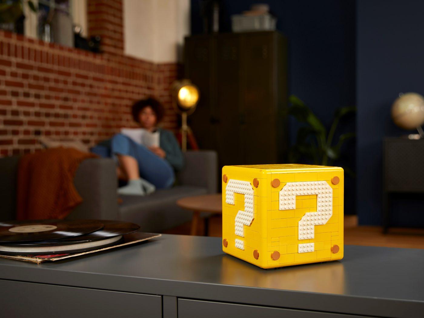 LEGO 71395 Super Mario 64 Question Mark Block Block Mode