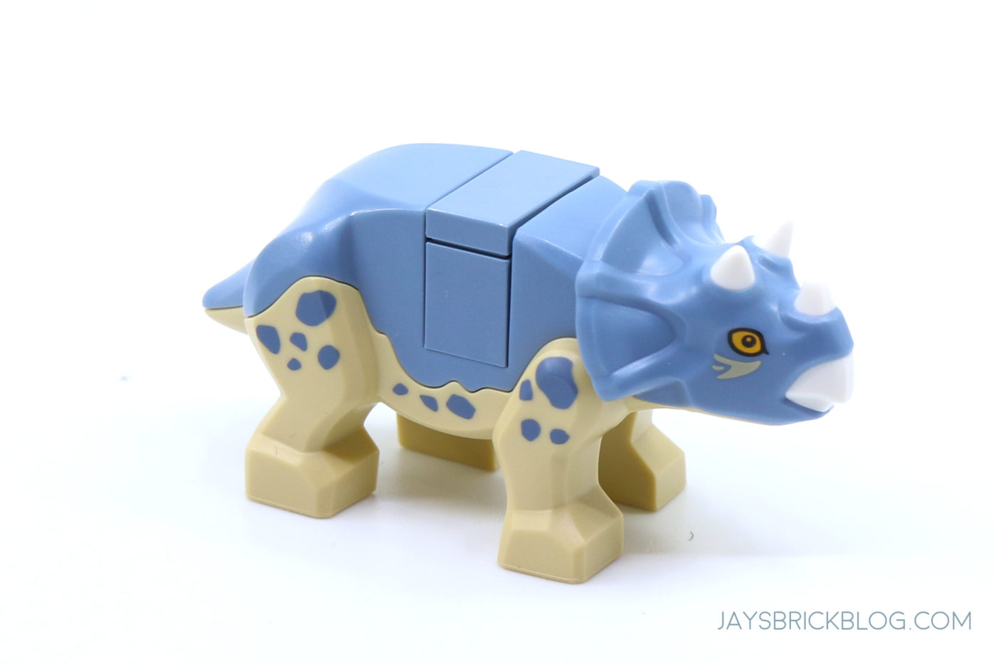 LEGO 76940 T. rex Dinosaur Fossil Exhibition Blue Baby Triceratops