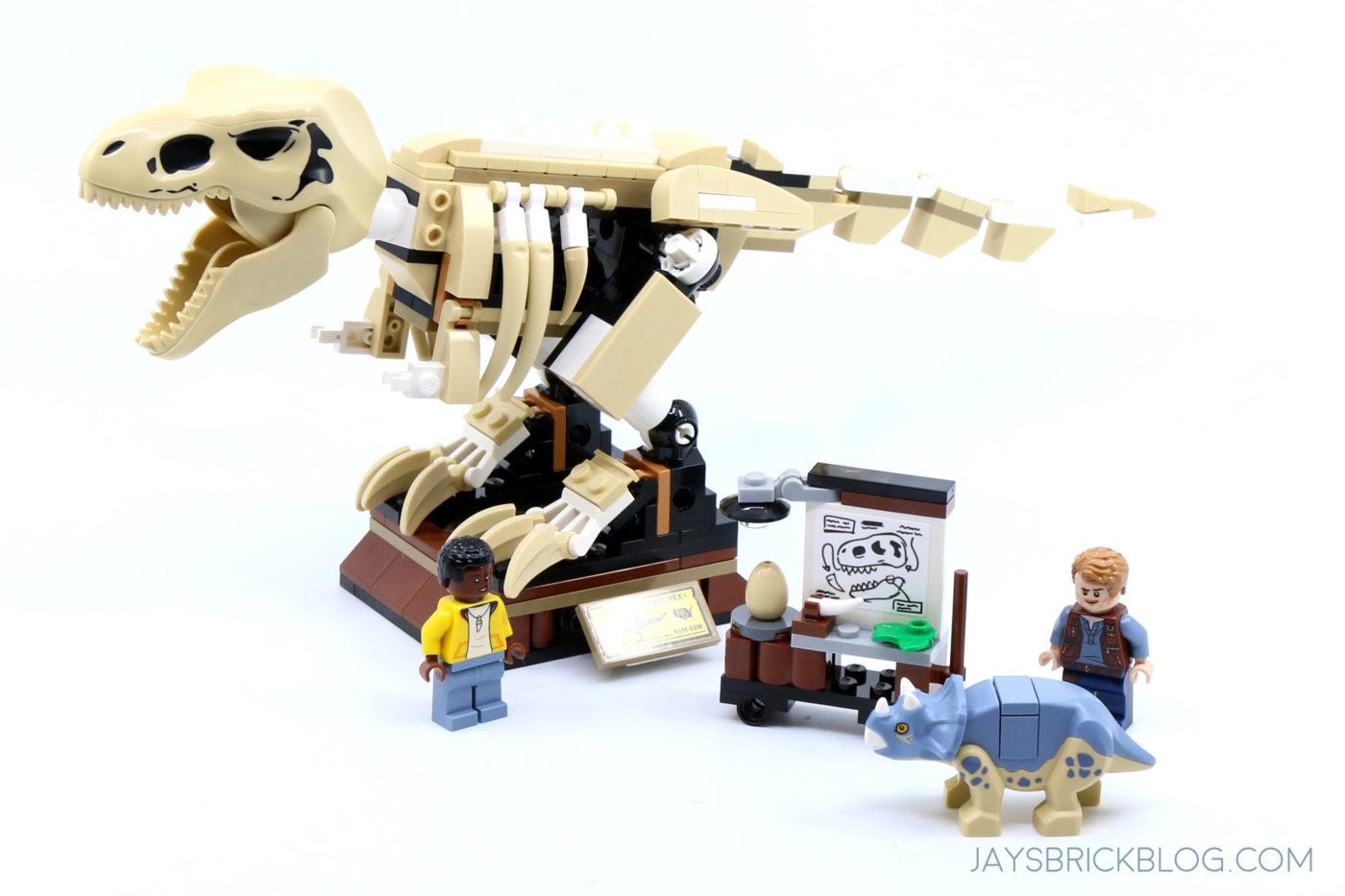 LEGO 76940 T. rex Dinosaur Fossil Exhibition Set Photo
