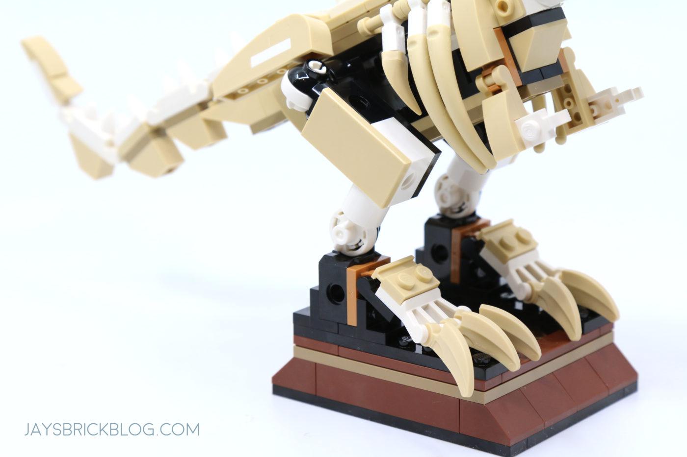 LEGO 76940 T. rex Dinosaur Fossil Exhibition T.Rex Legs
