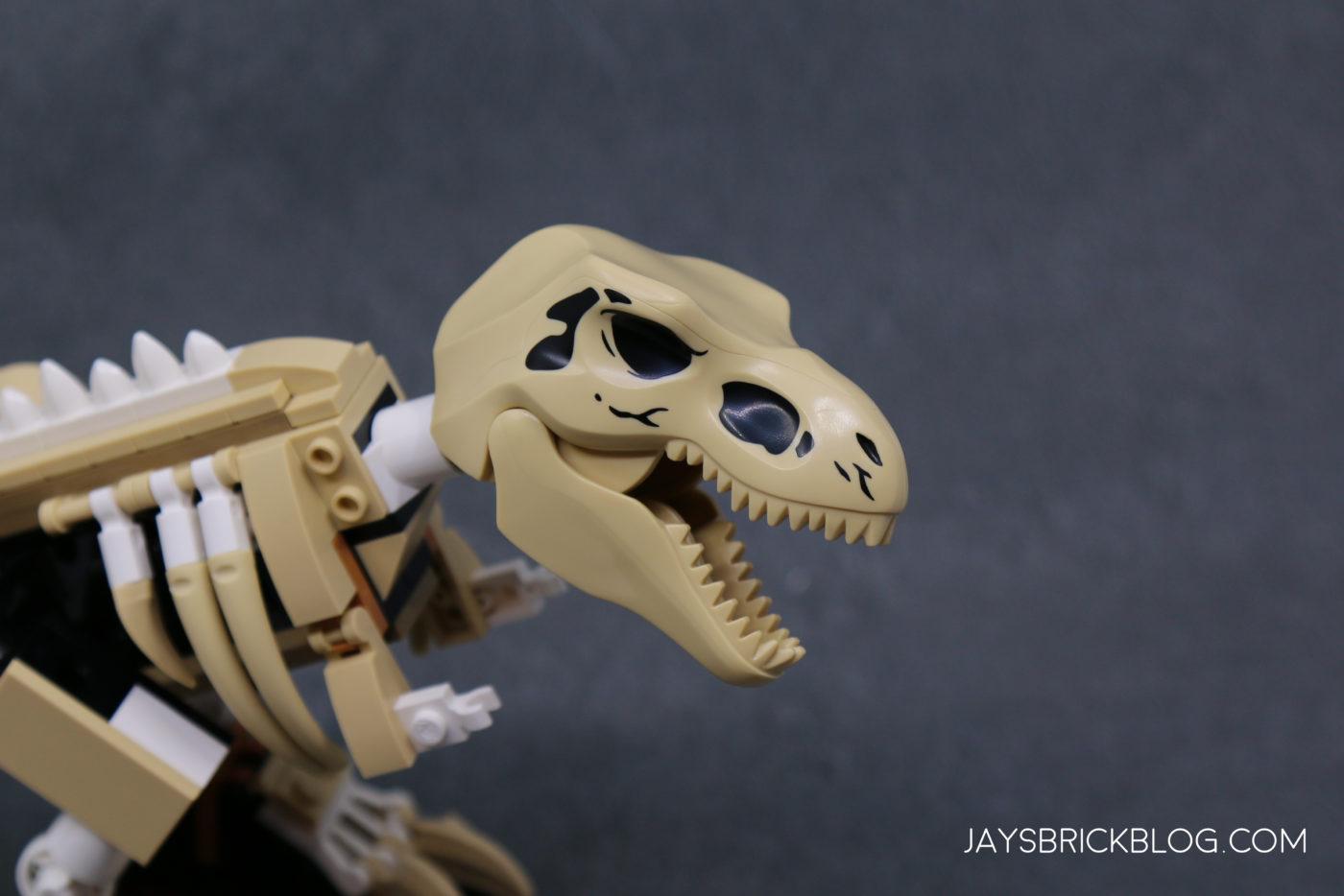 LEGO 76940 T. rex Dinosaur Fossil Exhibition T.rex Skull