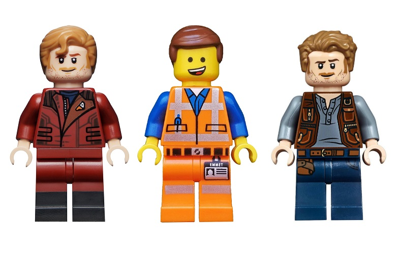 LEGO Chris Pratt Minifigures