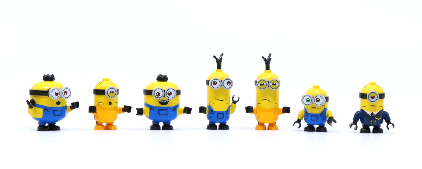 LEGO Minions Minifigures