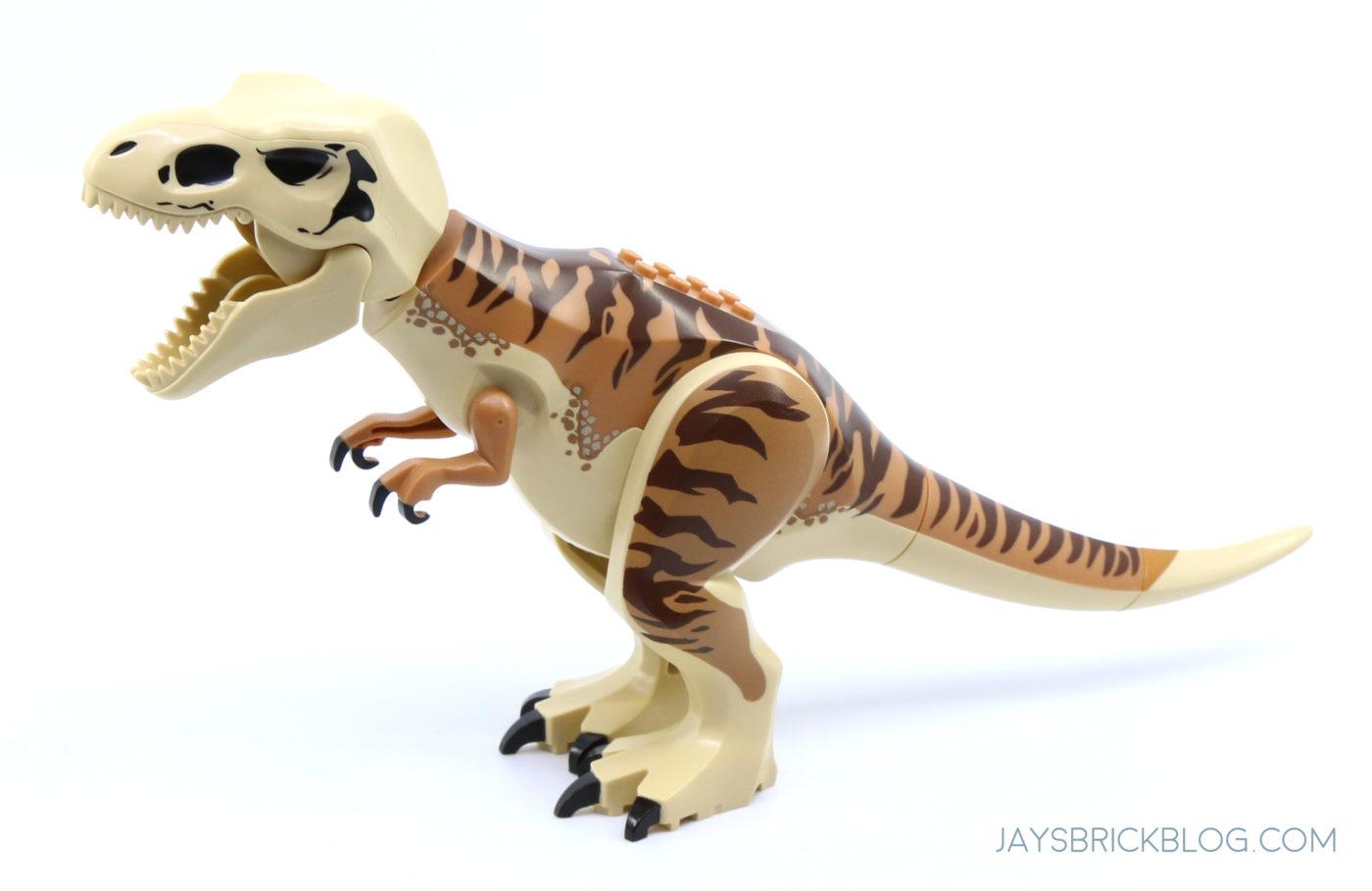 LEGO T.Rex Skull on Dinosaur Body 1