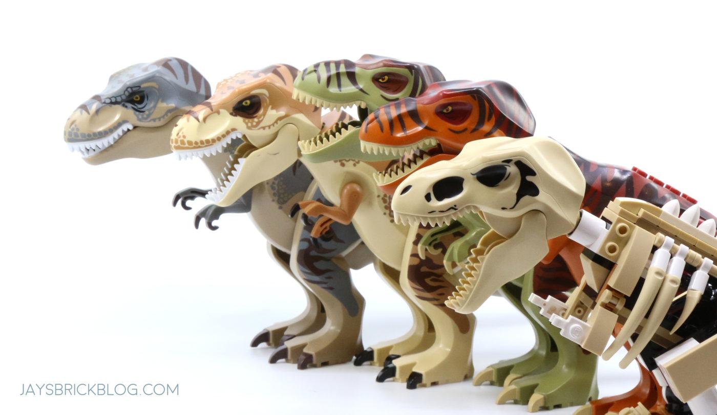 LEGO Tyrannosaurus Rex Collection